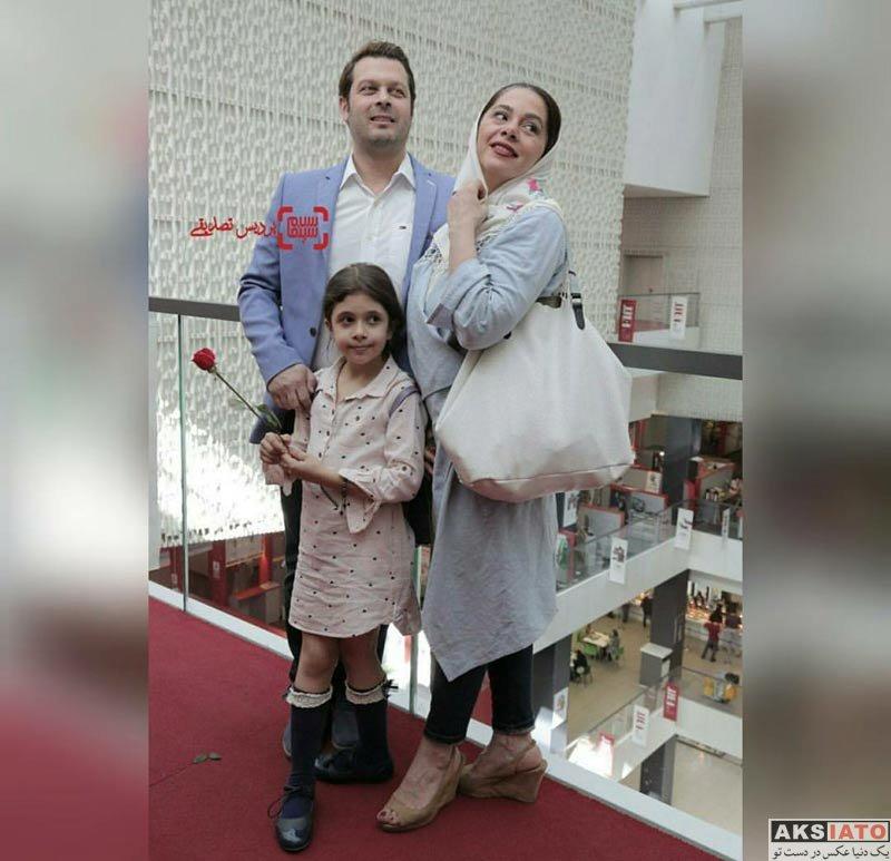 خانوادگی  پژمان بازغی و همسرش در جشنواره جهانی فیلم فجر