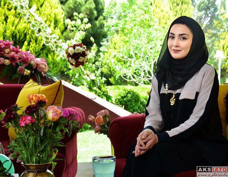 بازیگران بازیگران زن ایرانی  مریم معصومی در برنامه زنده رود اصفهان