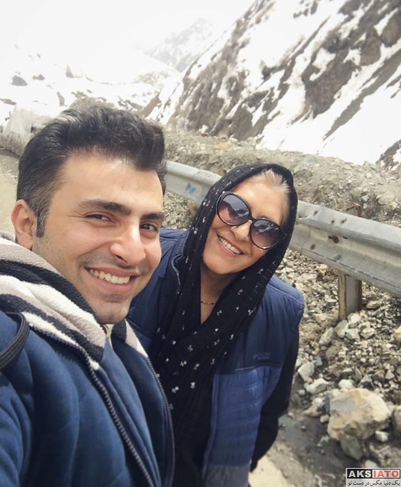 خوانندگان  علیرضا طلیسچی خواننده محبوب پاپ و مادرش