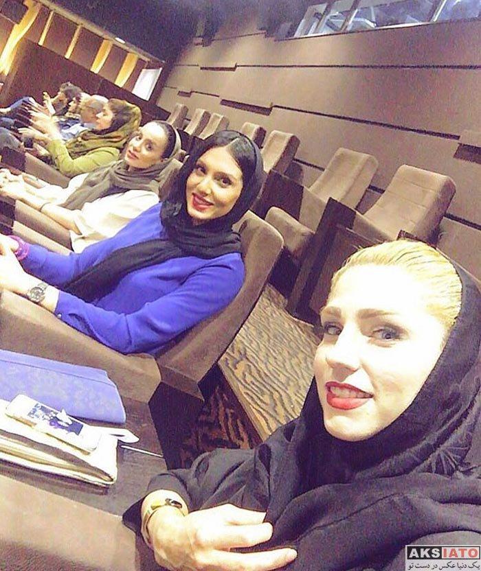 بازیگران ورزشکاران  فرنوش شیخی همسر کاوه رضایی بازیکن استقلال