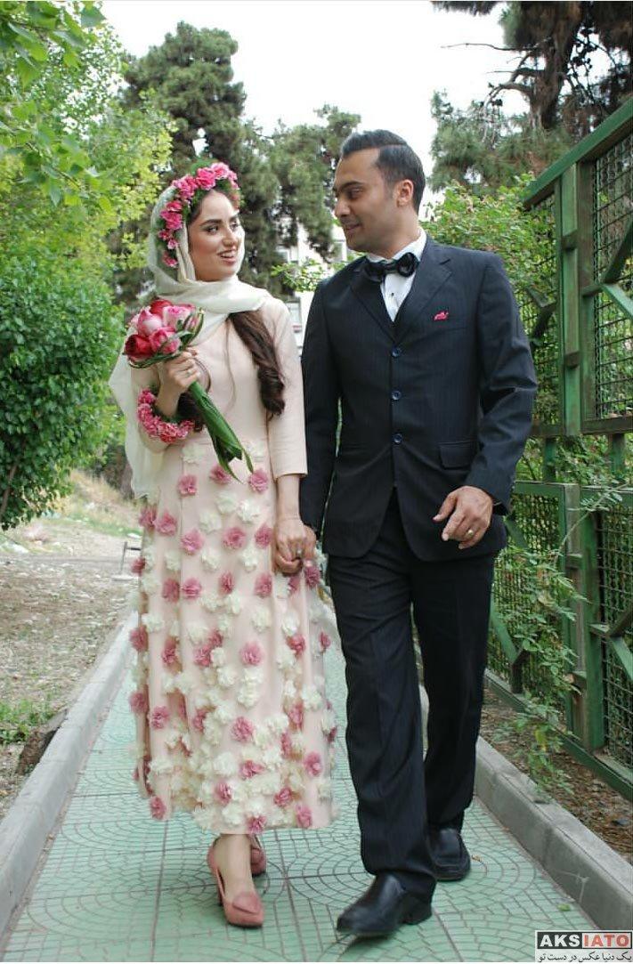 خانوادگی  عکس های مراسم عروسی هانیه غلامی