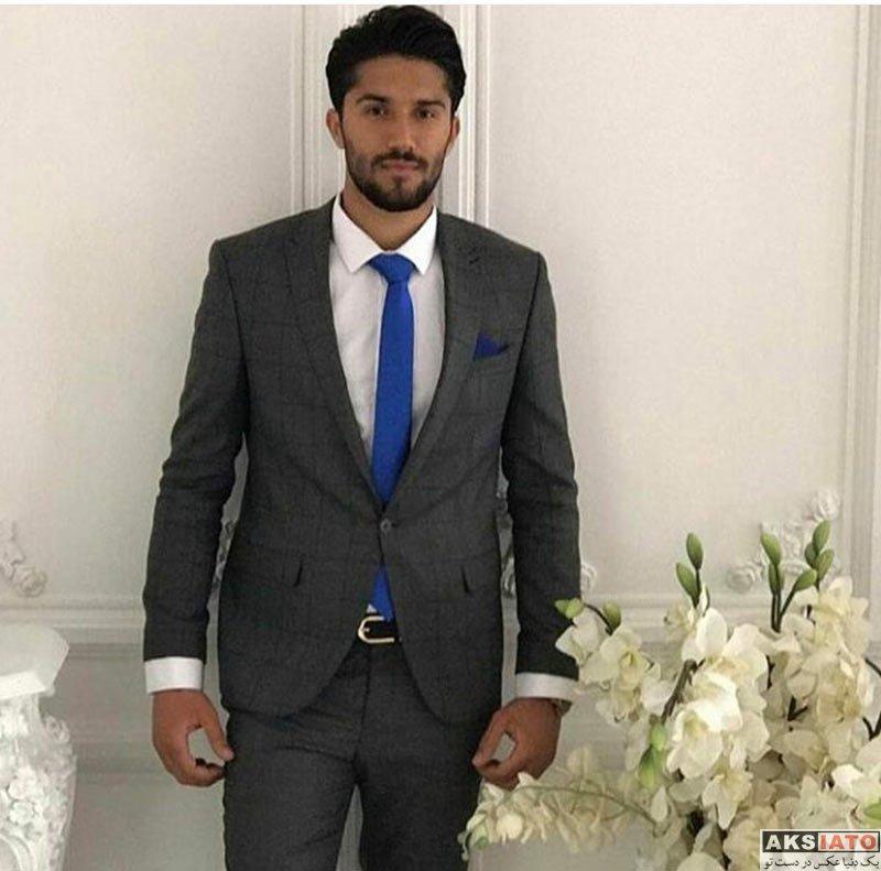 ورزشکاران ورزشکاران مرد  مراسم عروسی سید حسین حسینی دروازبان استقلال