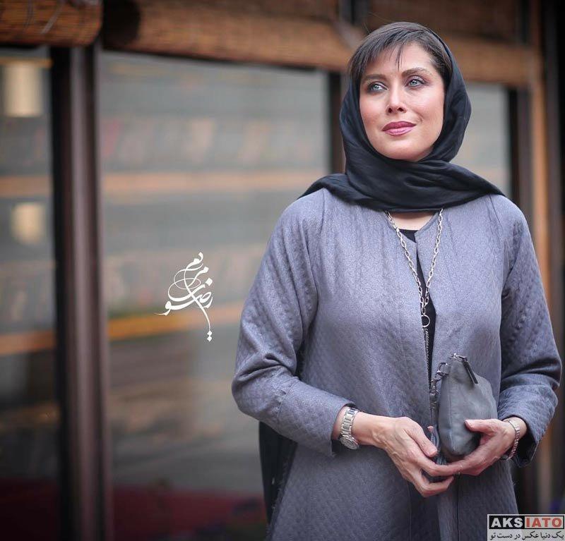 بازیگران بازیگران زن ایرانی  مهتاب کرامتی در مراسم اکران خصوصی فیلم «تیک آف»