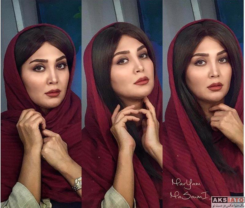 بازیگران زن ایرانی عکس آتلیه و استودیو  عکس های آتلیه مریم معصومی در اردیبهشت 96