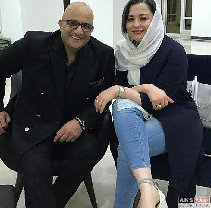 بازیگران بازیگران زن ایرانی  مهراوه شریفی نیا در جزیره کیش در اریبهشت ماه
