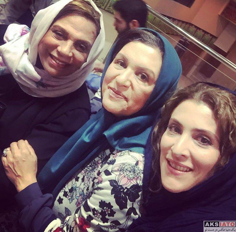 بازیگران بازیگران زن ایرانی  ویشکا آسایش ،گوهر خیراندیش و رویا تیموریان در پای صندق رای