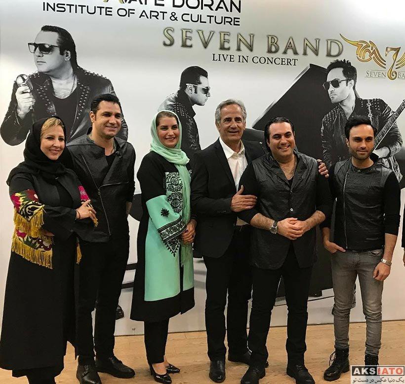 بازیگران بازیگران زن ایرانی  فریبا کوثری در کنسرت گروه سون باند