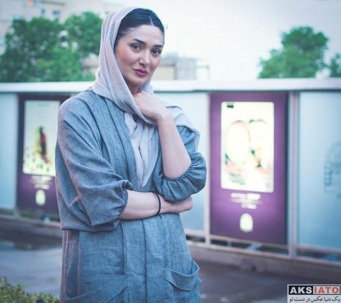 بازیگران بازیگران زن ایرانی  مینا وحید در مراسم اکران خصوصی فیلم «تیک آف»