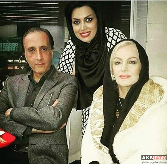 خانوادگی مجریان  محمدرضا حیاتی مجری اخبار شبکه یک و همسرش