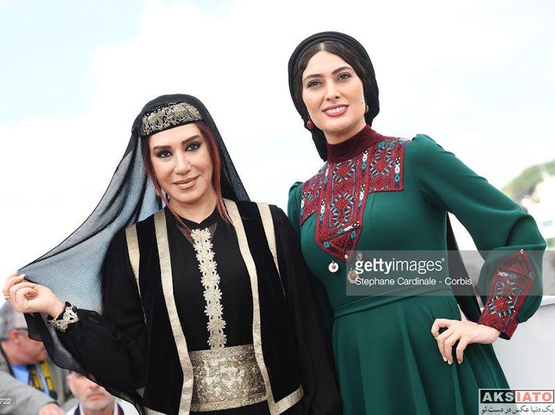 بازیگران بازیگران زن ایرانی جشنواره و مراسم ها  نسیم ادبی در فرش قرمز جشنواره فیلم کن ۲۰۱۷