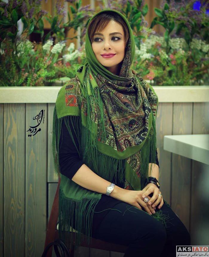 بازیگران بازیگران زن ایرانی  یکتا ناصر در اکران خصوصی فیلم «آشوب»