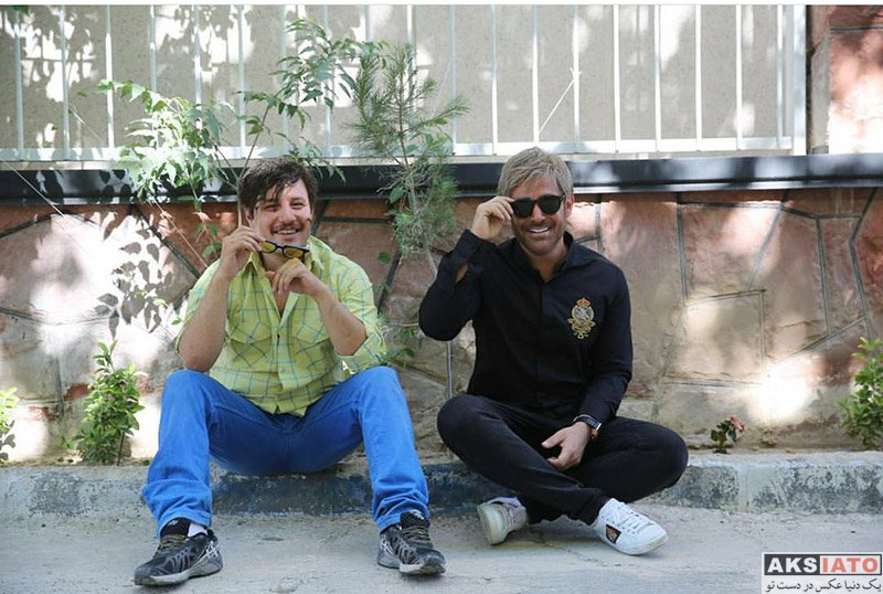 """فیلم های ایرانی فیلم و نمایش  تصاویر فیلم """"آینه بغل"""" با گریم متفاوت محمدرضا گلزار (4 عکس)"""
