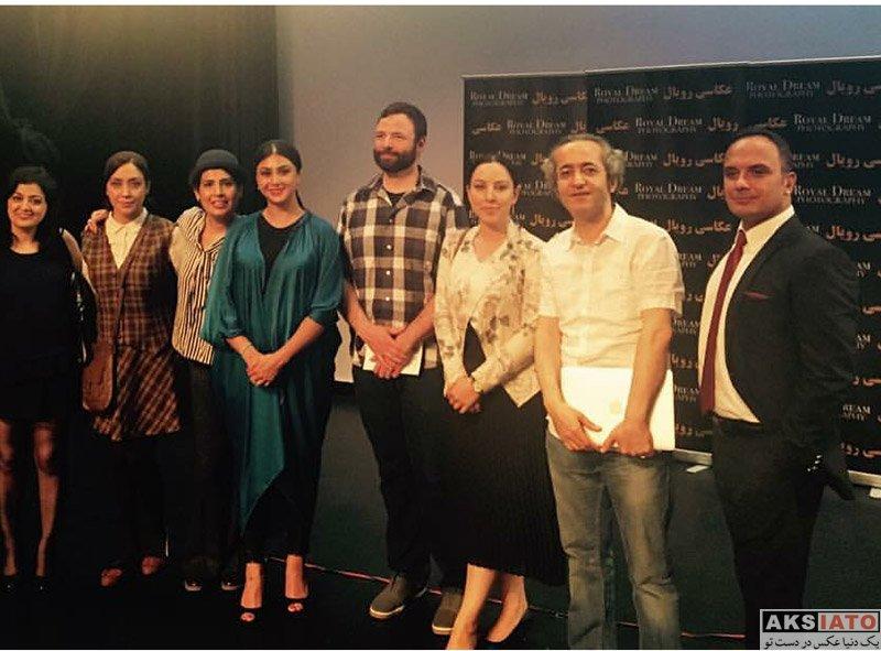 """بازیگران بازیگران زن ایرانی  آزاده صمدی در نمایش """"آیس لند"""" در کانادا"""