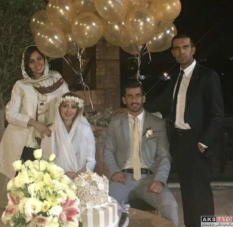 خانوادگی  7 عکس از مراسم عروسی احسان حاج صفی