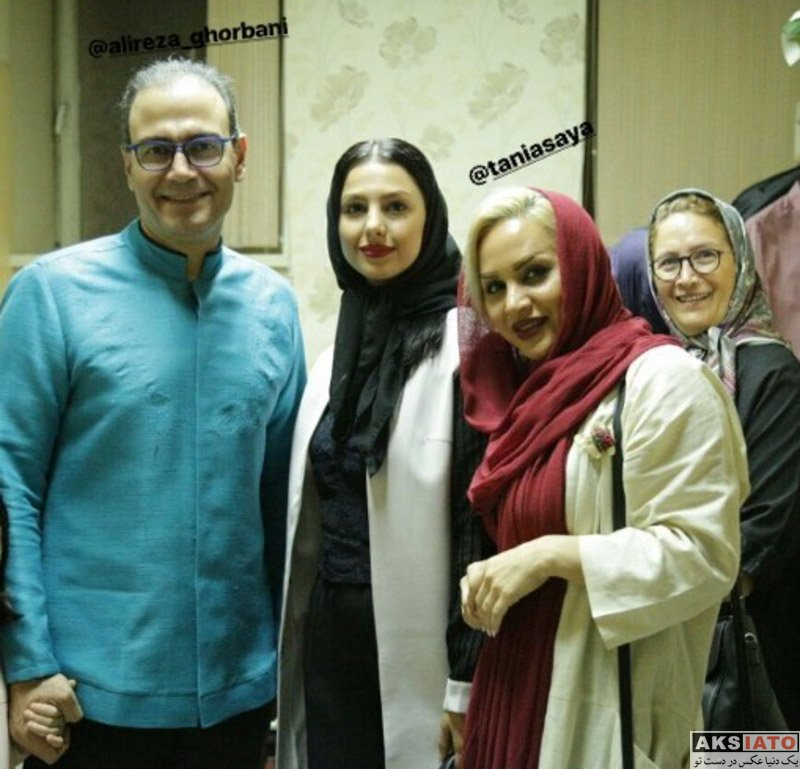 بازیگران بازیگران زن ایرانی  جوانه دلشاد در کنسرت علی قربانی (3 عکس)