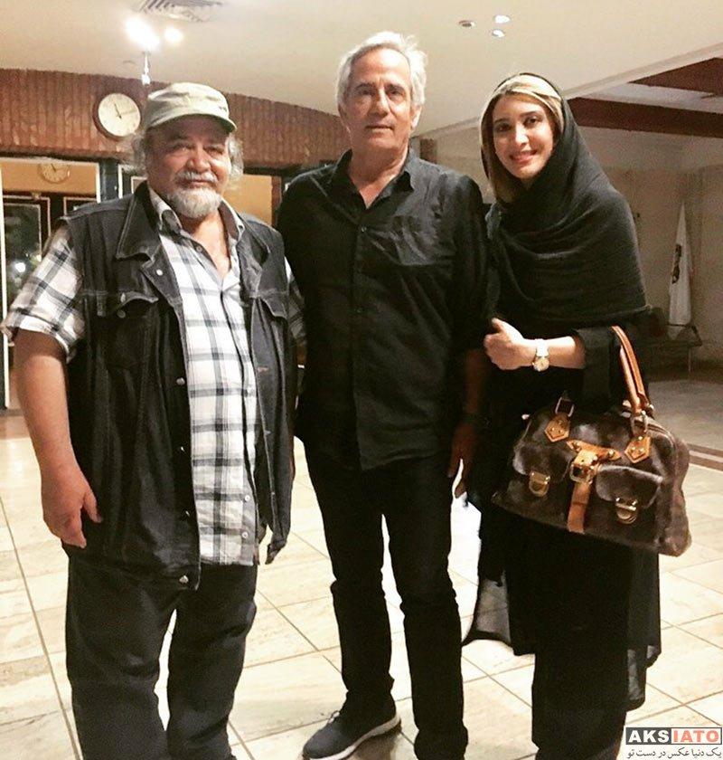 """بازیگران بازیگران زن ایرانی  نیکی مظفری بعد از اجرای نمایش """"نماینده ملت"""""""