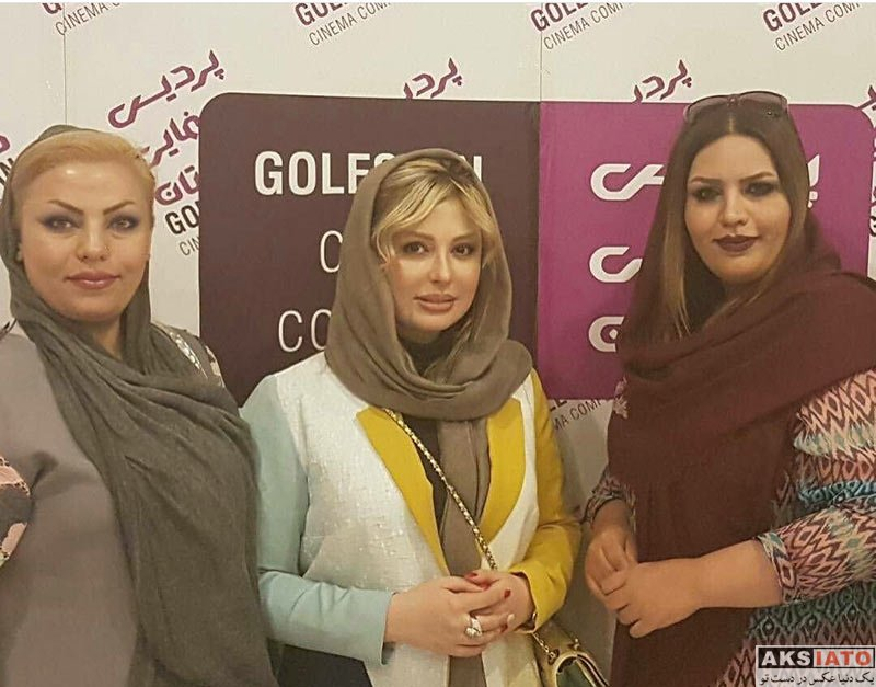 بازیگران بازیگران زن ایرانی  نیوشا ضیغمی در نشست نقد فیلم «هفت معکوس»در شیراز