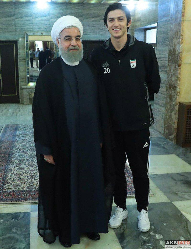 ورزشکاران ورزشکاران مرد  دیدار صمیمانه سردار آزمون با رئیس جمهور (3 عکس)