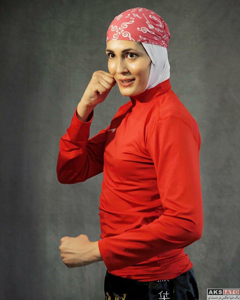 ورزشکاران ورزشکاران زن  الهه منصوریان قهرمان ووشوی جهان (۸عکس)