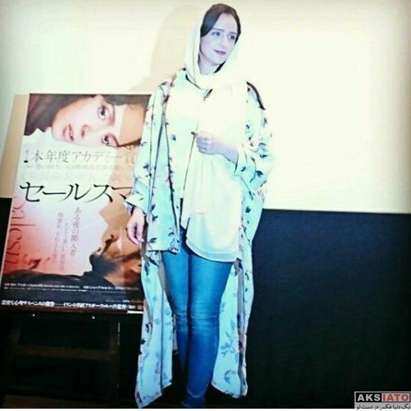 بازیگران بازیگران زن ایرانی  ترانه علیدوستی در آخرین روز نمایش آثارش در ژاپن