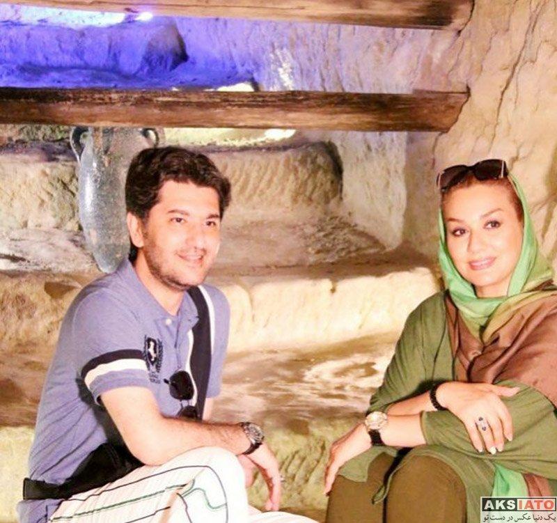 خانوادگی مجریان  امیرحسین مدرس و همسرش در جزیره کیش (5 عکس)