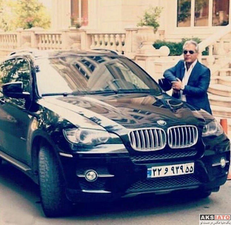 بازیگران بازیگران مرد ایرانی  مهران مدیری در کنار بی ام و چندصد میلیونی اش
