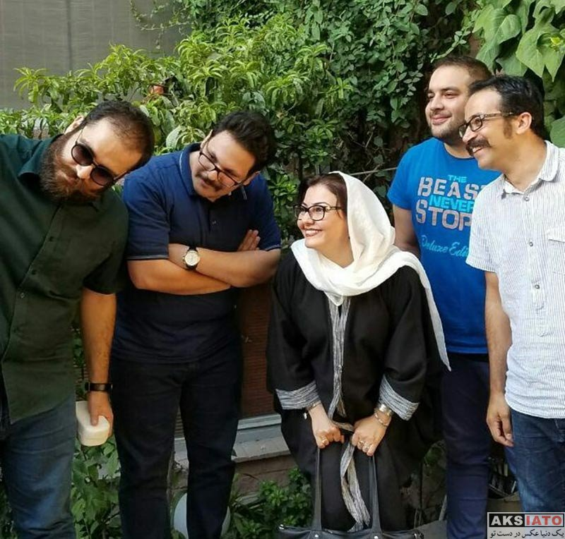 بازیگران بازیگران زن ایرانی  آناهیتا همتی در جشن امضای کتاب ژاژنامه (3 عکس)