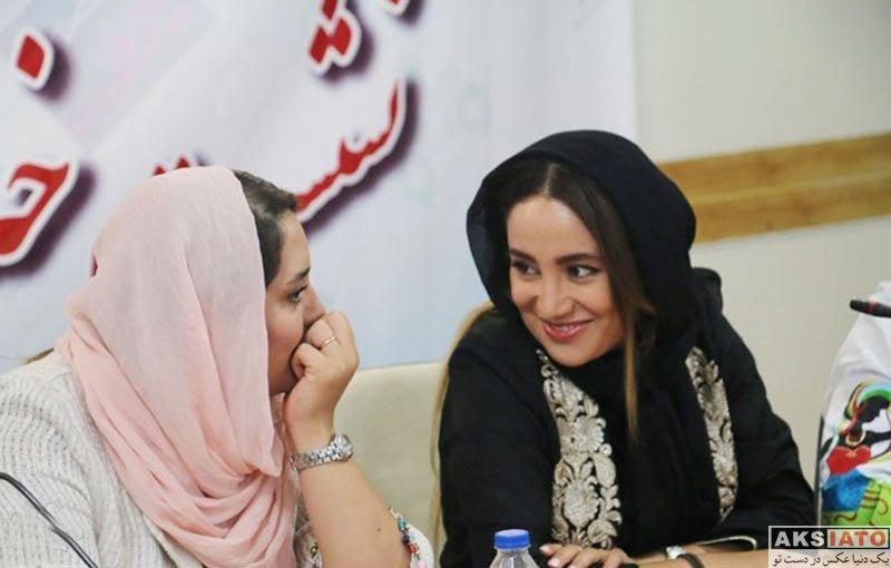 بازیگران بازیگران زن ایرانی  بهاره افشاری در نشست خبری اجرا خوانی «بر پهنه دریا»