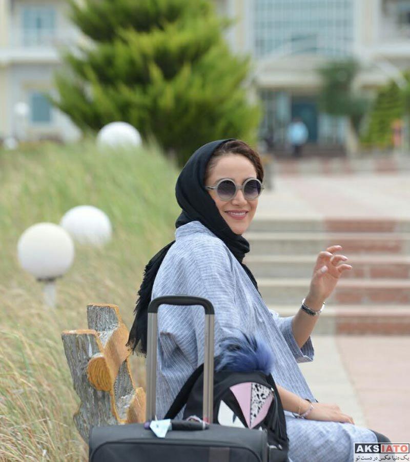 بازیگران بازیگران زن ایرانی  بهاره افشاری در شمال کشور در مردادماه ( 3 عکس)