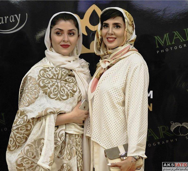 بازیگران بازیگران زن ایرانی  لیلا بلوکات در افتتاحیه سال زیبایی شیرین مقدم در مشهد