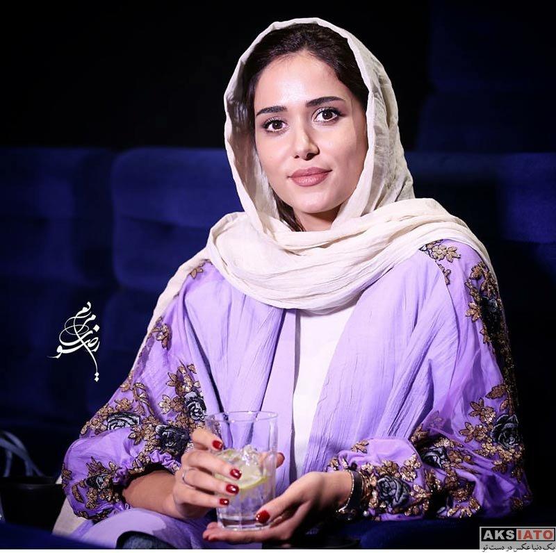 """بازیگران بازیگران زن ایرانی  پریناز ایزدیار در اکران مردمی فیلم """"ویلایی ها"""" در مگامال (5 عکس)"""