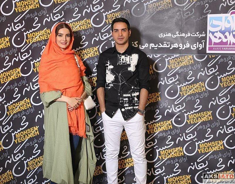 بازیگران بازیگران زن ایرانی  متین ستوده در کنسرت 31 تیرماه محسن یگانه