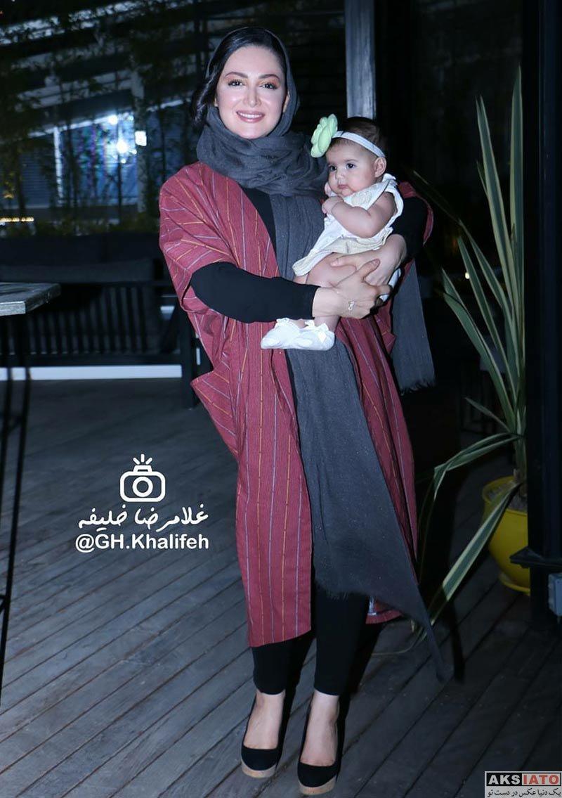 بازیگران بازیگران زن ایرانی  شیلا خداداد در مراسم تجلیل از حمید نعمت الله (4 عکس)