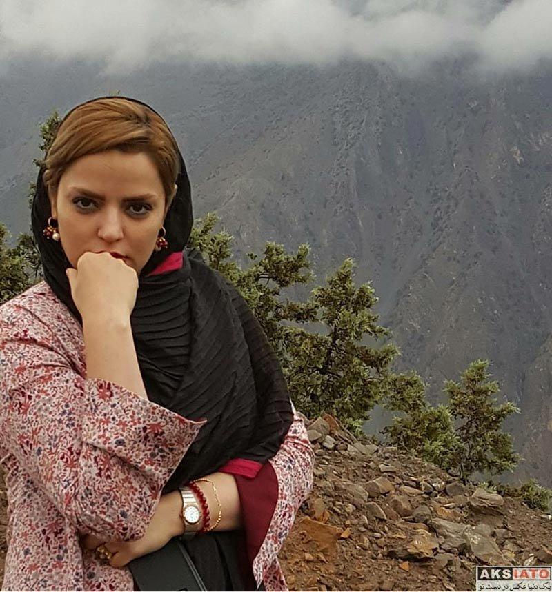 بازیگران بازیگران زن ایرانی  عکس های سپیده خداوردی در کوه های شمال