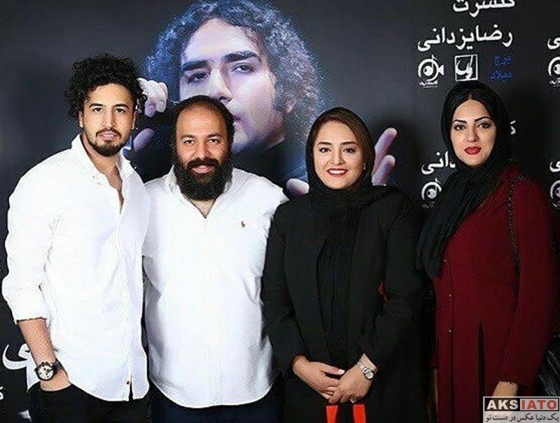 بازیگران بازیگران زن ایرانی  هلیا امامی در کنسرت رضا یزدانی