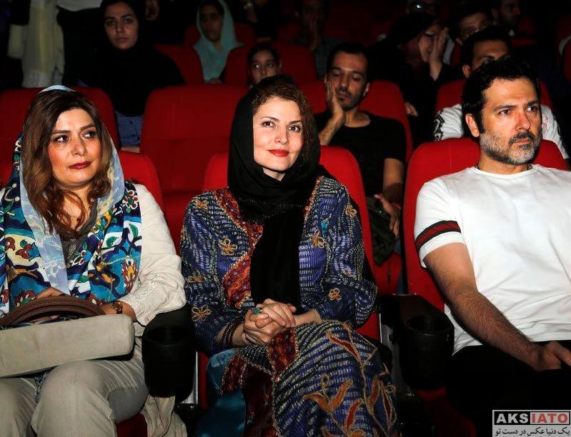 بازیگران بازیگران زن ایرانی  لیلا موسوی در مراسم تقدیر عوامل فیلم رگ خواب (3 عکس)