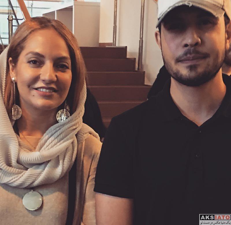 بازیگران بازیگران زن ایرانی  مهناز افشار در اکران فیلم نهنگ عنبر 2 در آلمان (3 عکس)