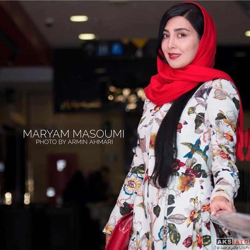 بازیگران بازیگران زن ایرانی  مریم معصومی در اکران خصوصی فیلم «ساعت ۵ عصر»