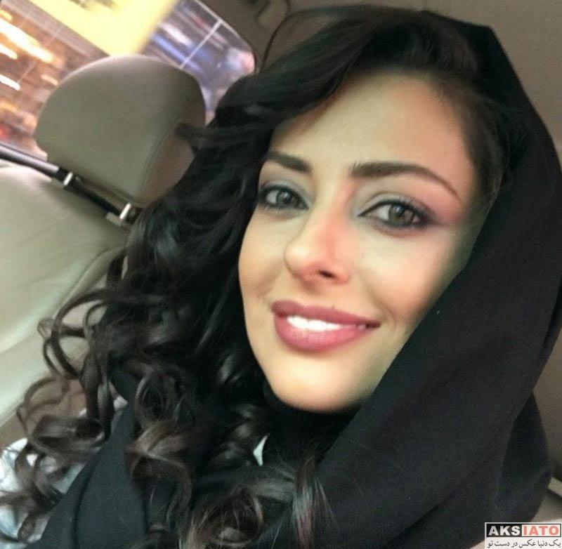 بازیگران بازیگران زن ایرانی  رونمایی نفیسه روشن از مدل جدید موهایش