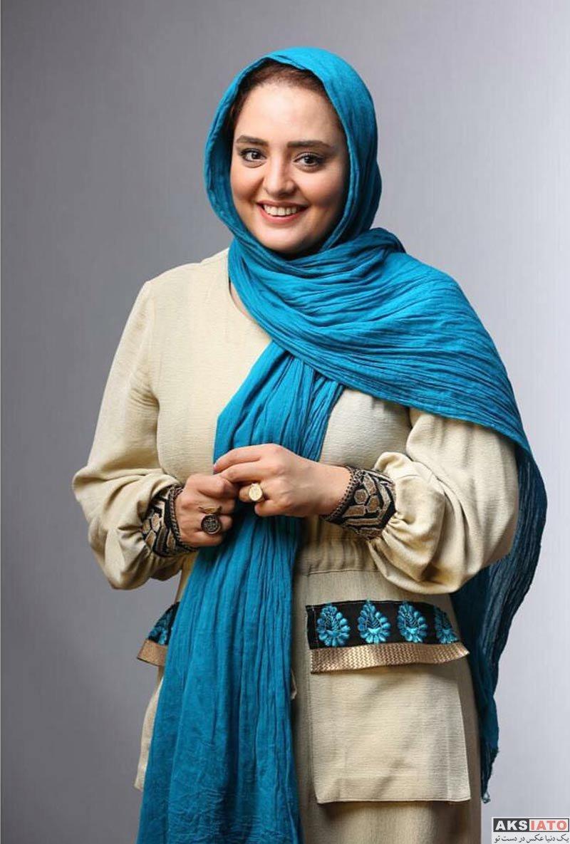 بازیگران بازیگران زن ایرانی  نرگس محمدی با مانتوی جدید و زیبا