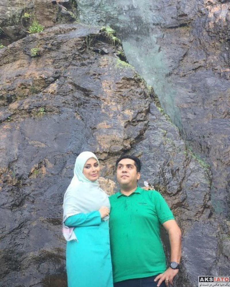 خانوادگی  عکس های صبا راد مجری مشهور و همسرش (3 عکس)