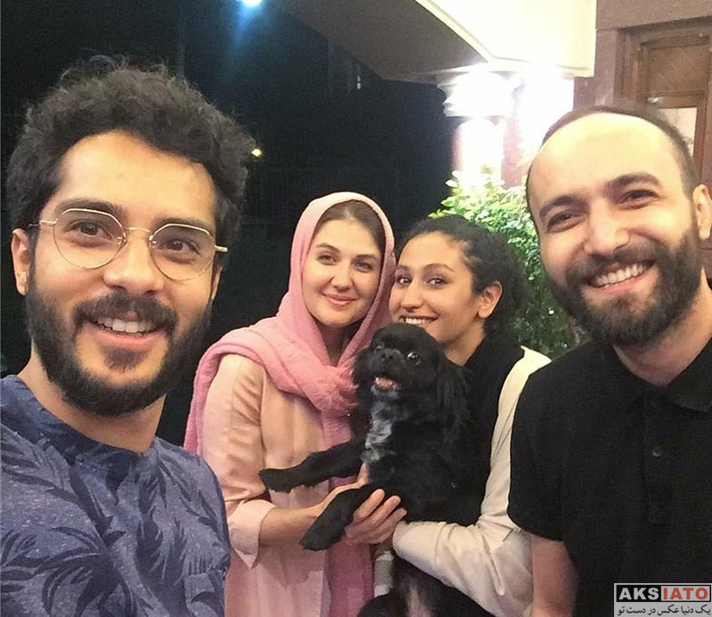 خانوادگی  عکس جدید ساعد سهیلی و همسرش (گلوریا هاردی)