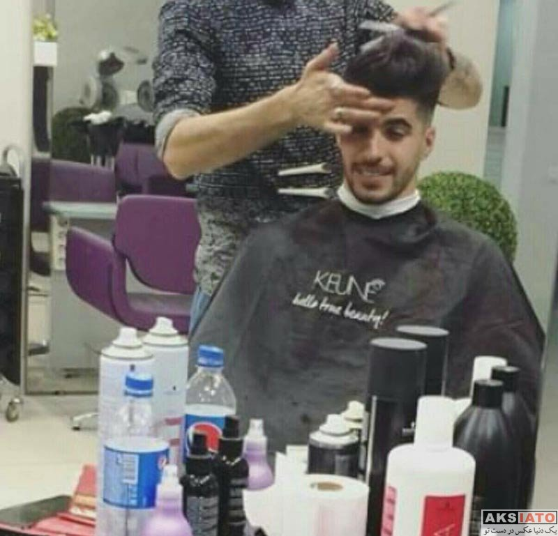 ورزشکاران ورزشکاران مرد  سعید عزت اللهی با مدل موهای جدید