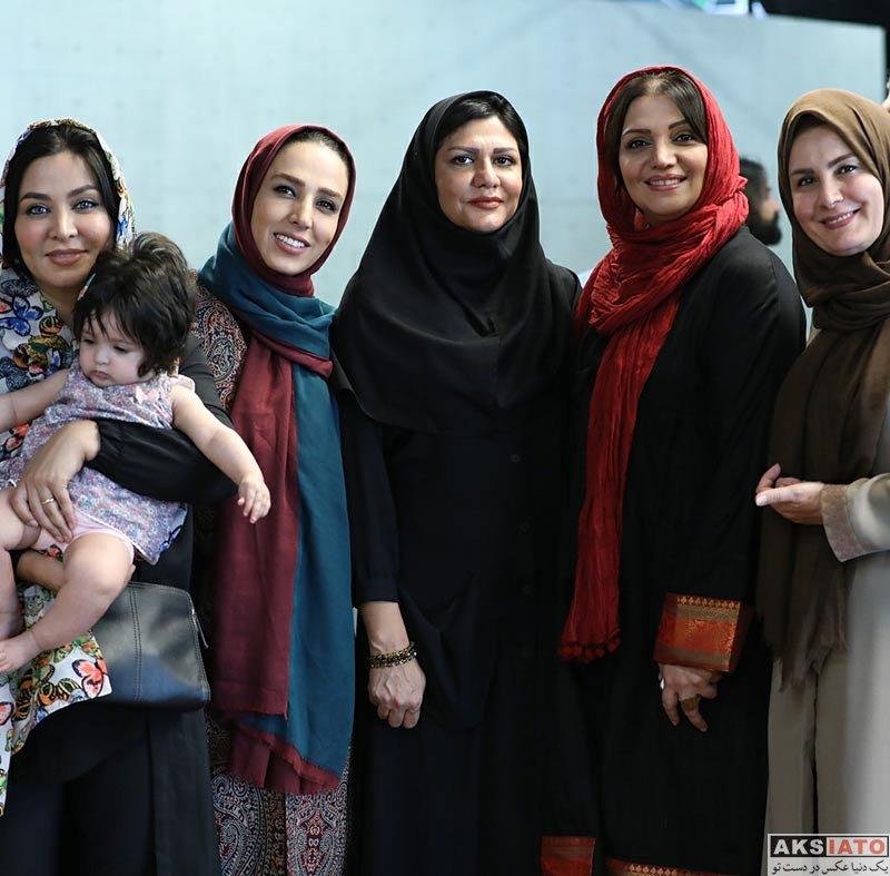 بازیگران بازیگران زن ایرانی  سوگل طهماسبی در مراسم تقدير از ميزبانان هزارداستان