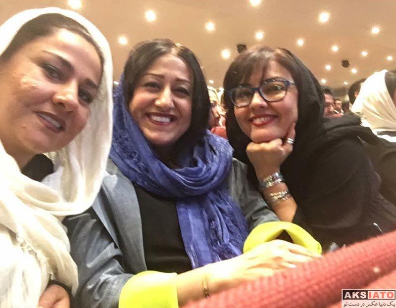 بازیگران زن ایرانی جشن حافظ  آناهیتا همتی در هفدهمین جشن حافظ (3 عکس)