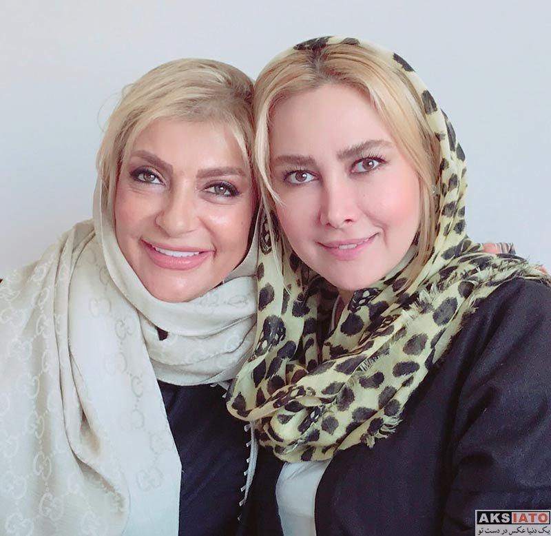 بازیگران بازیگران زن ایرانی  عکس های آنا نعمتی با خانم دکتر در مردادماه 96