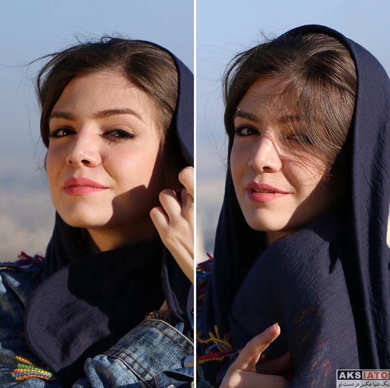 بازیگران بازیگران زن ایرانی  عکس های آوا دارویت در مردادماه 96 (5 عکس)
