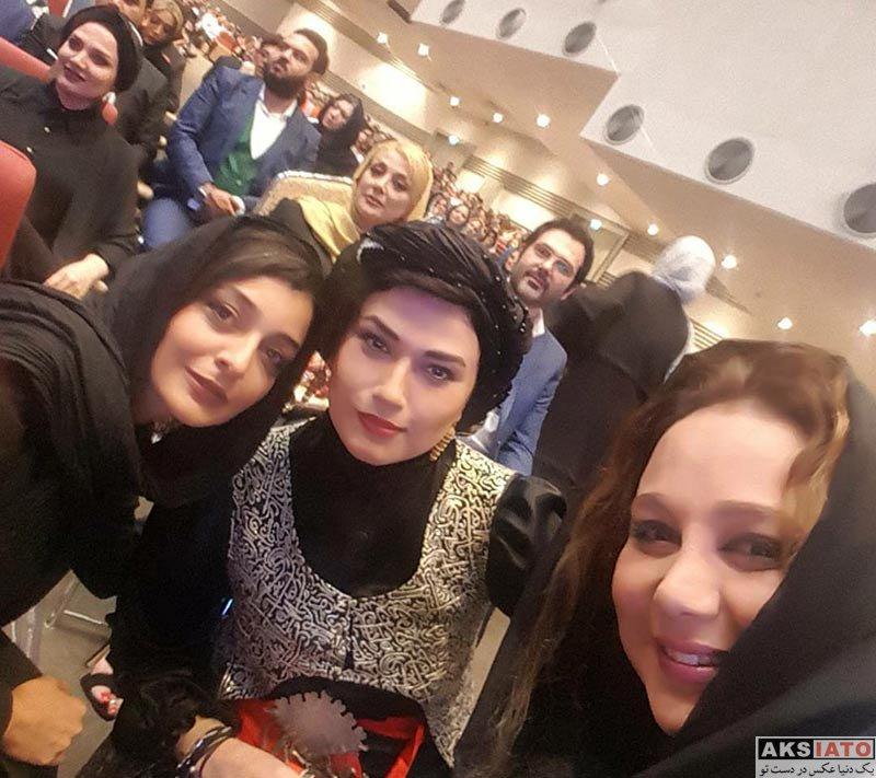 بازیگران بازیگران زن ایرانی جشن حافظ  بهنوش بختیاری در هفدهمین جشن حافظ (۳ عکس)