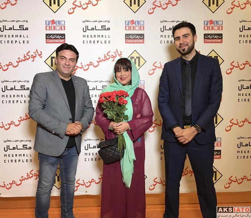 بازیگران بازیگران زن ایرانی  بهنوش بختیاری در اکران فیلم «پا تو کفش من نکن» در مگامال