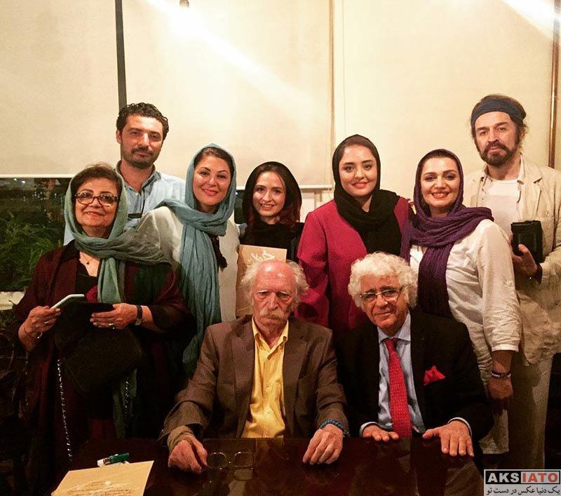 بازیگران بازیگران زن ایرانی  نرگس محمدی در جشن تولد محمود دولت آبادی